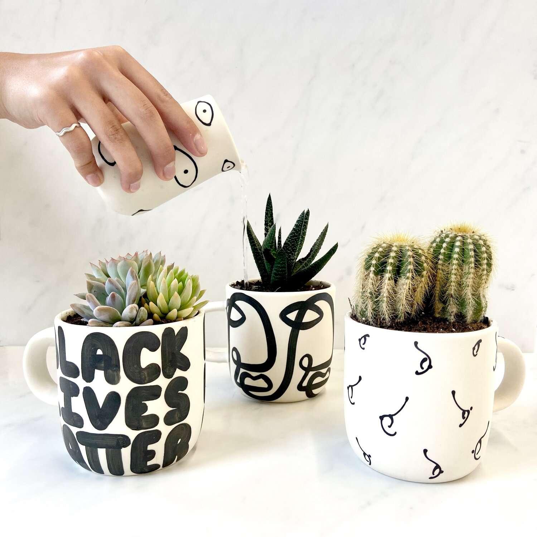 Franca Planter Mug