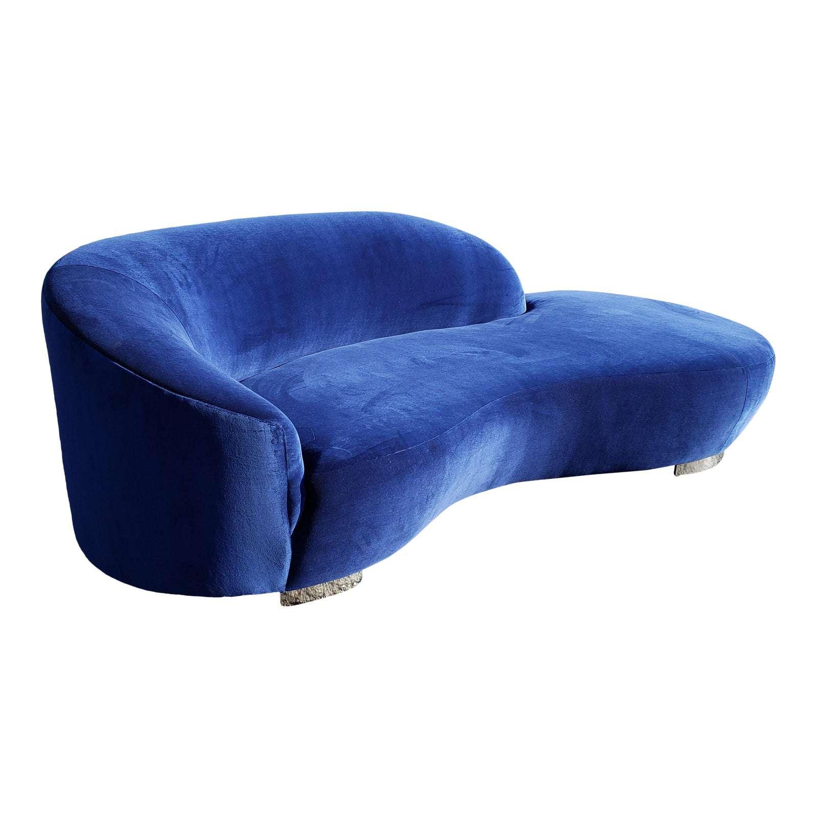 Vladimir Kagan Cloud Serpentine Sofa