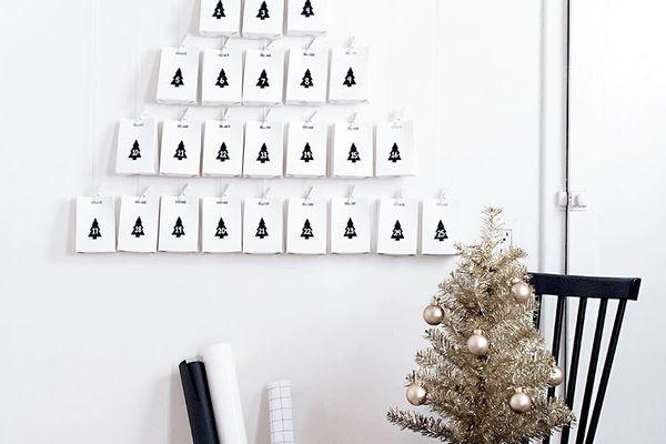 DIY Minimal Advent Calendar