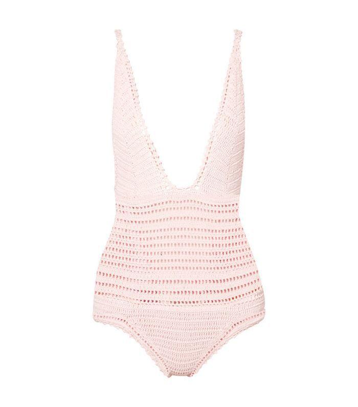 Lalita Crocheted Cotton Swimsuit