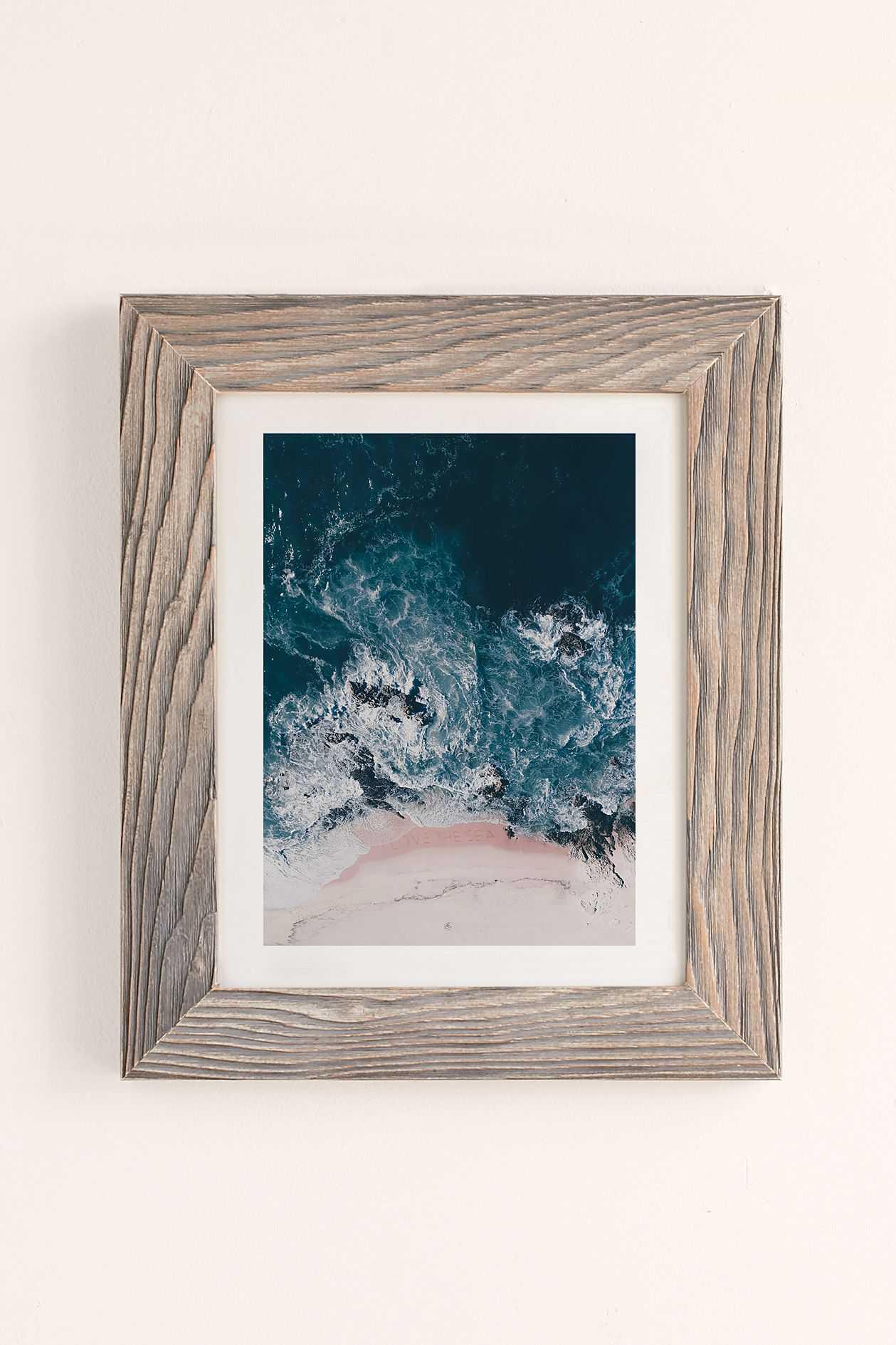 I Love The Sea Art Print