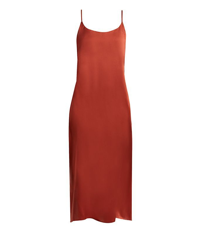 Asceno Scoop-Neck Sandwashed-Silk Nightdress