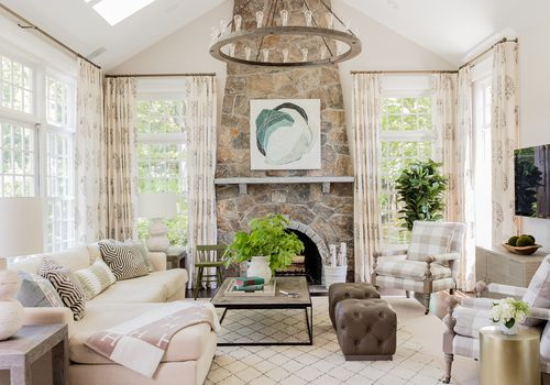 Traditional Massachusetts home tour