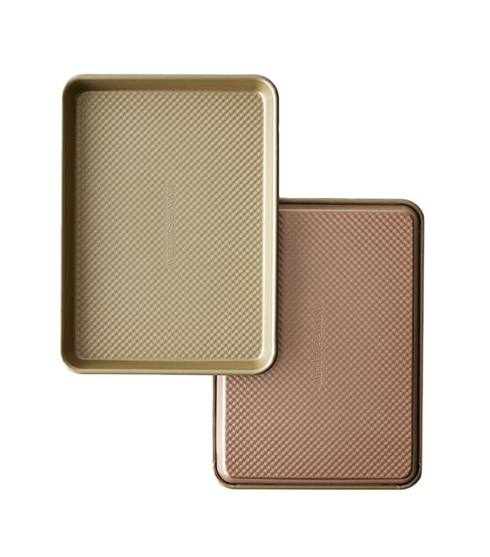 Williams-Sonoma Copper Goldtouch(R) Nonstick Quarter Sheet Pans