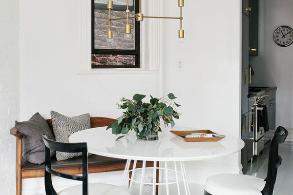 dining nook in a rental property