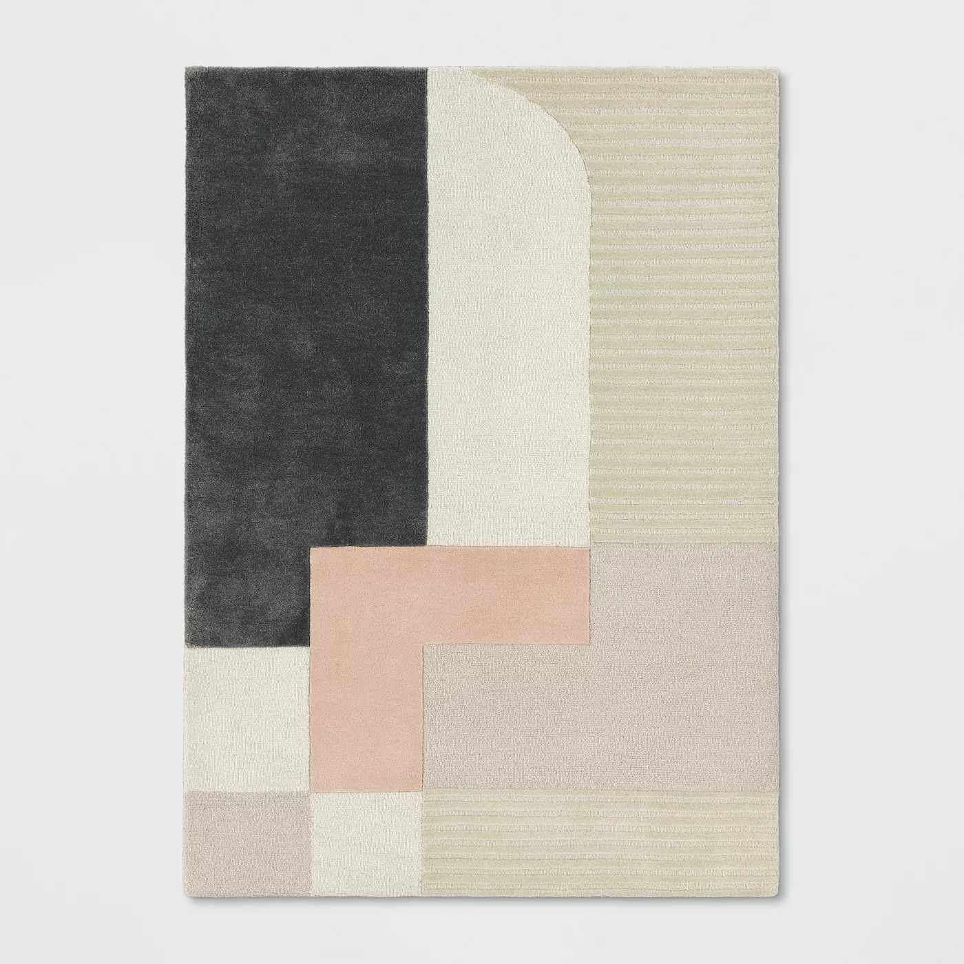 Project 62 block tufted rug