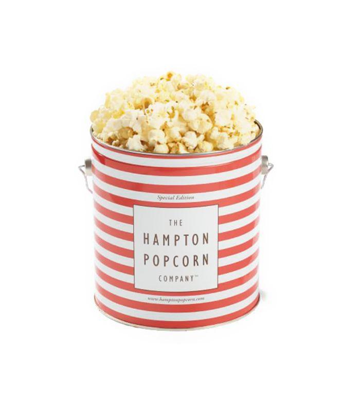 The Hampton Popcorn Co. White Truffle Parmesan Popcorn Tin