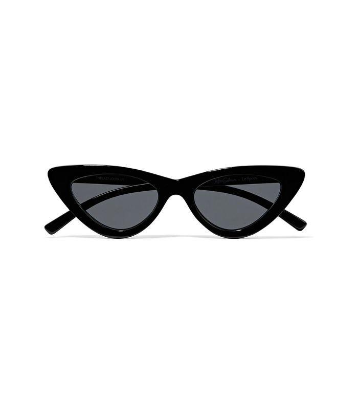 Valencia 54 Gold-Tone Round-Frame Sunglasses