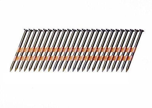 Clavo Grip-Rite Plástico 4M Acero recubierto de vinilo Clavo liso Clavo para enmarcar