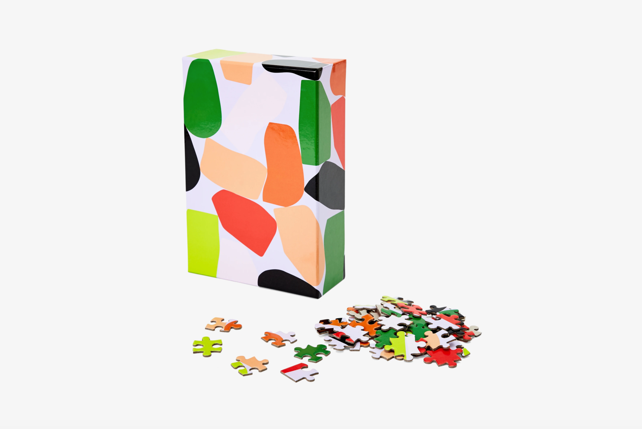 patterned jigsaw puzzle