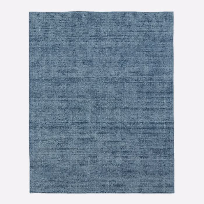 West Elm Patina Rug in Officier Blue