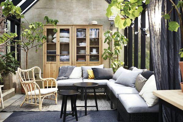 IKEA living area
