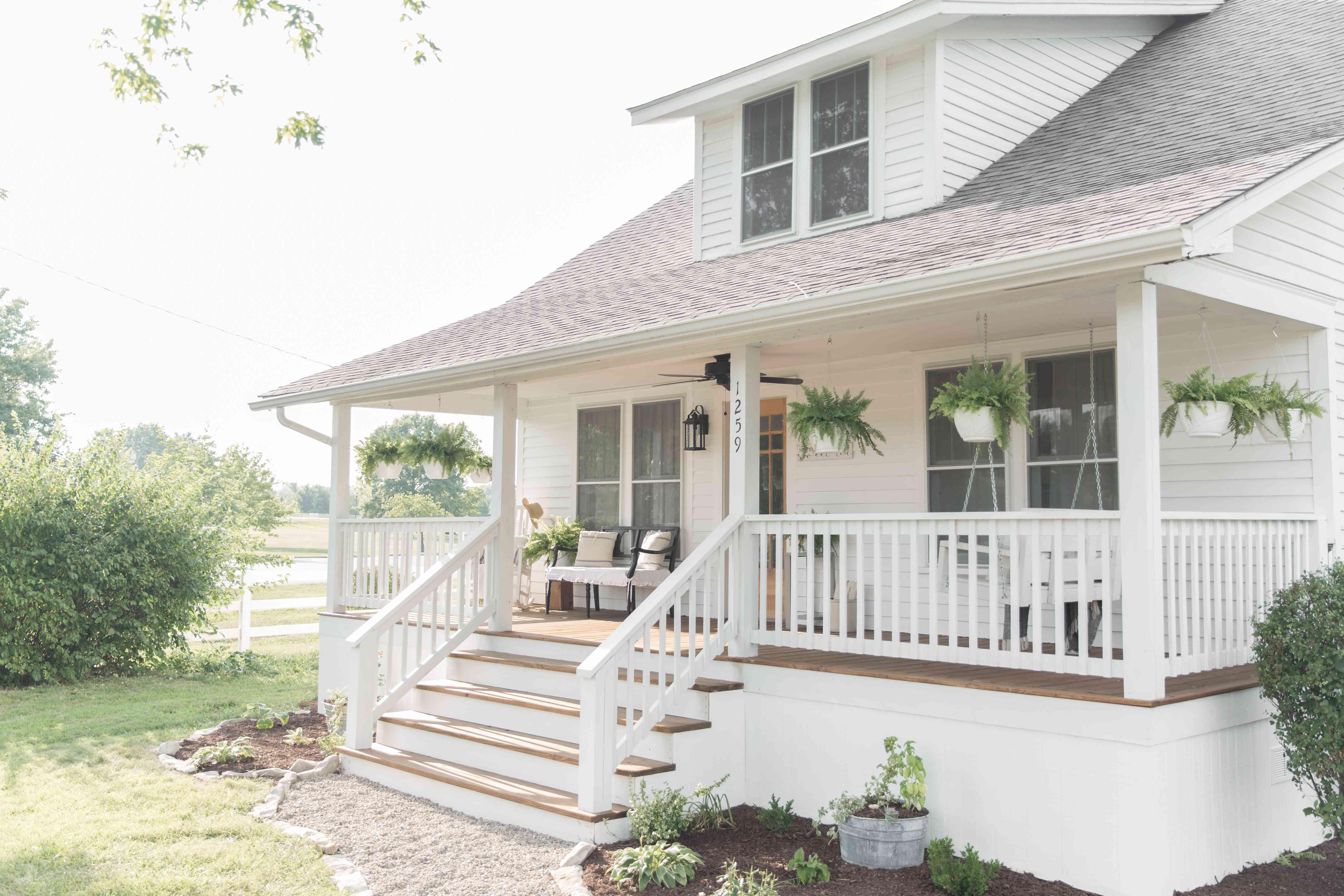 porch railing styles