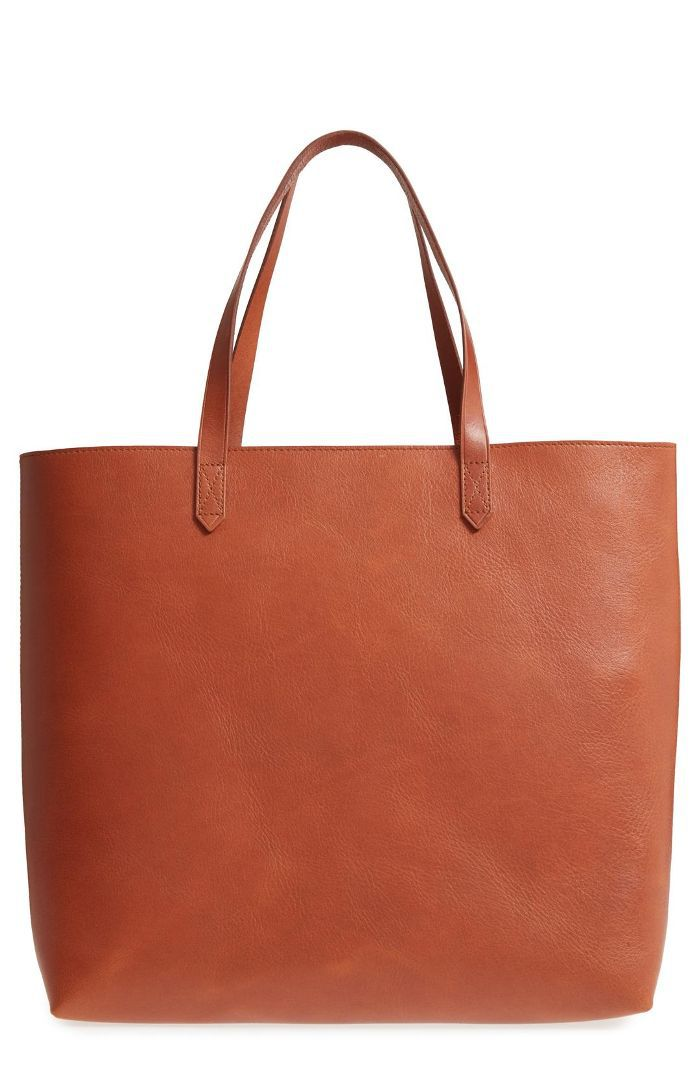 Madewell Zip Top Transport Leather Tote Things to Do Before a Flight