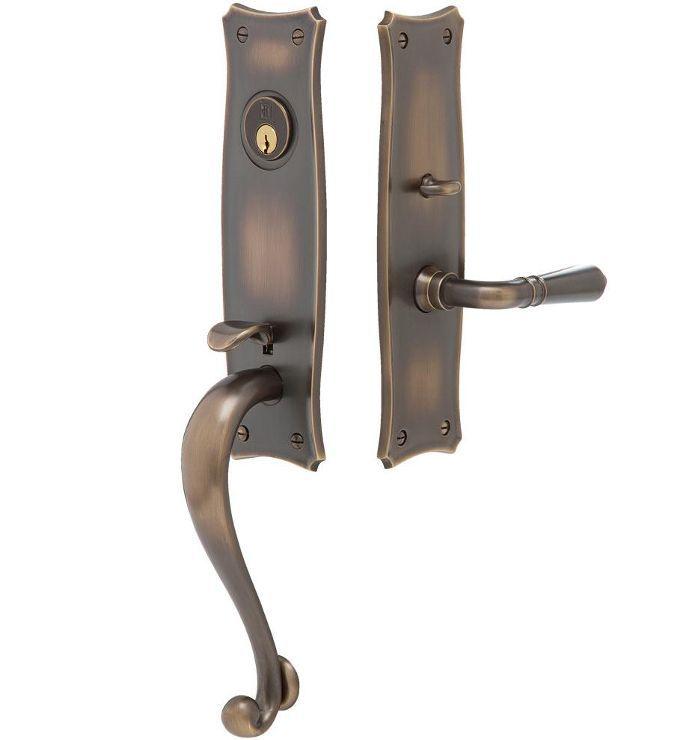 Templeton Traditional Lever Exterior Door Set