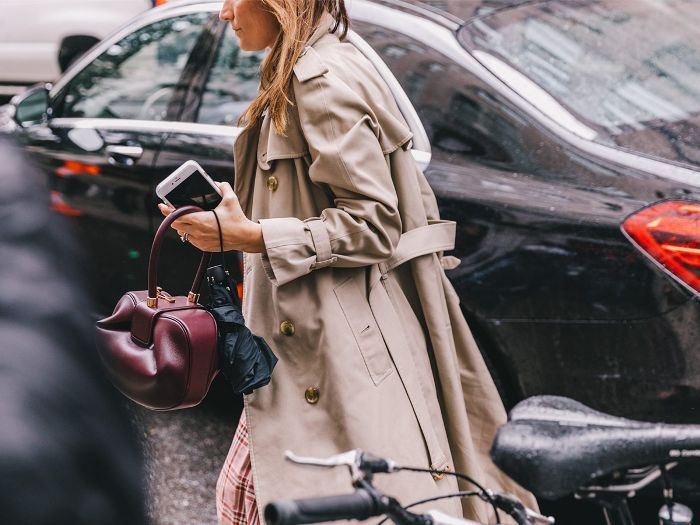 Trench Coat Winter Street Style