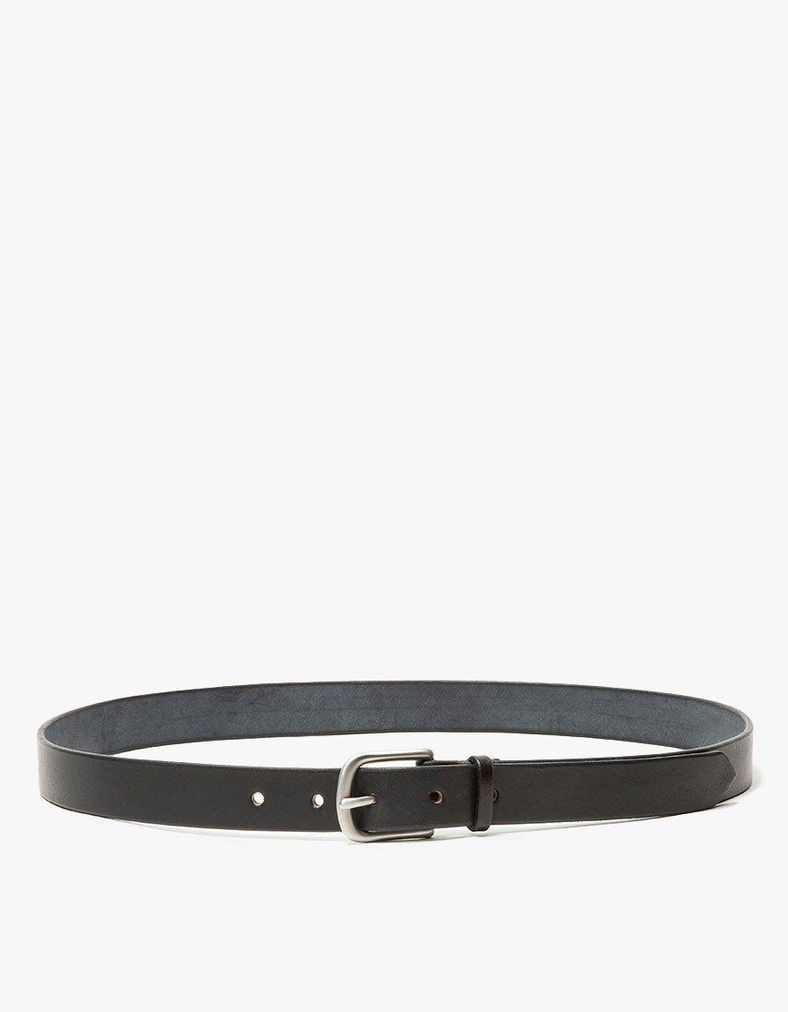 Slim Standard Belt in Black