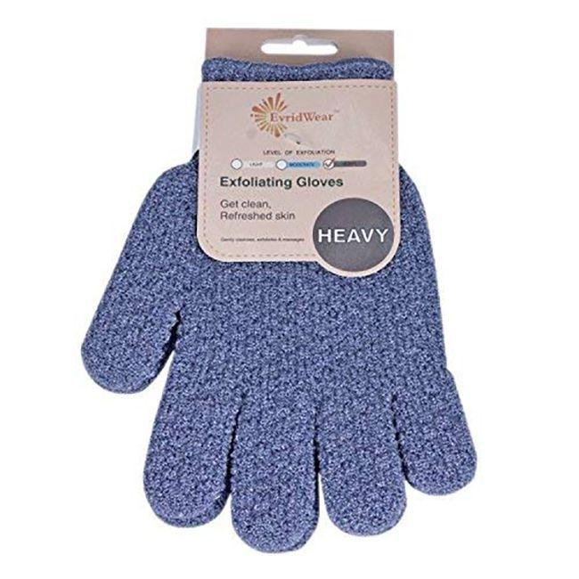 guantes exfoliantes