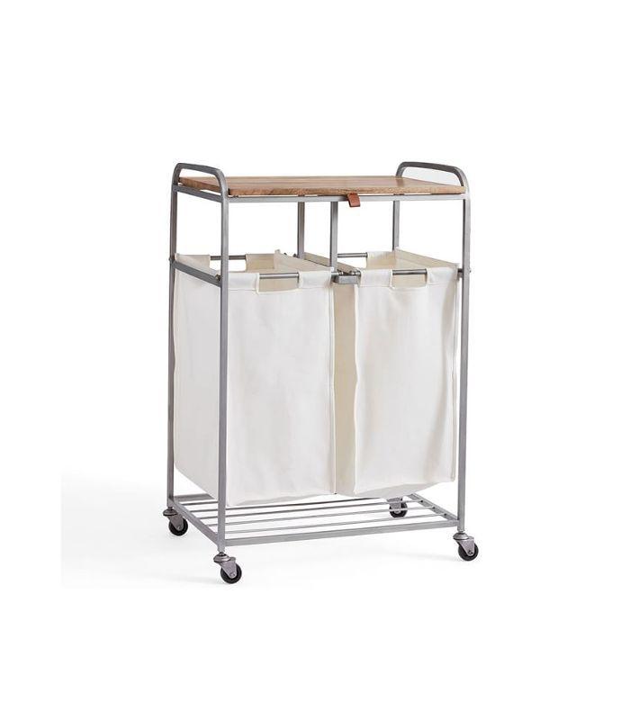 Galvanized Rolling Cart
