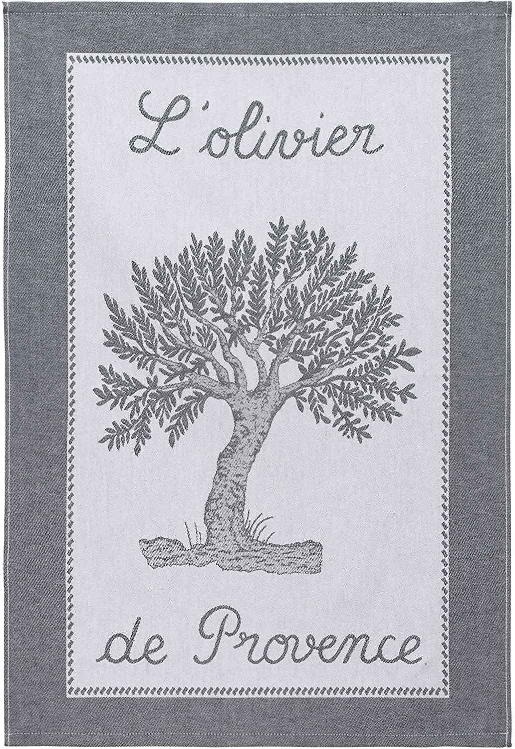 Coucke French Cotton Jacquard Towel