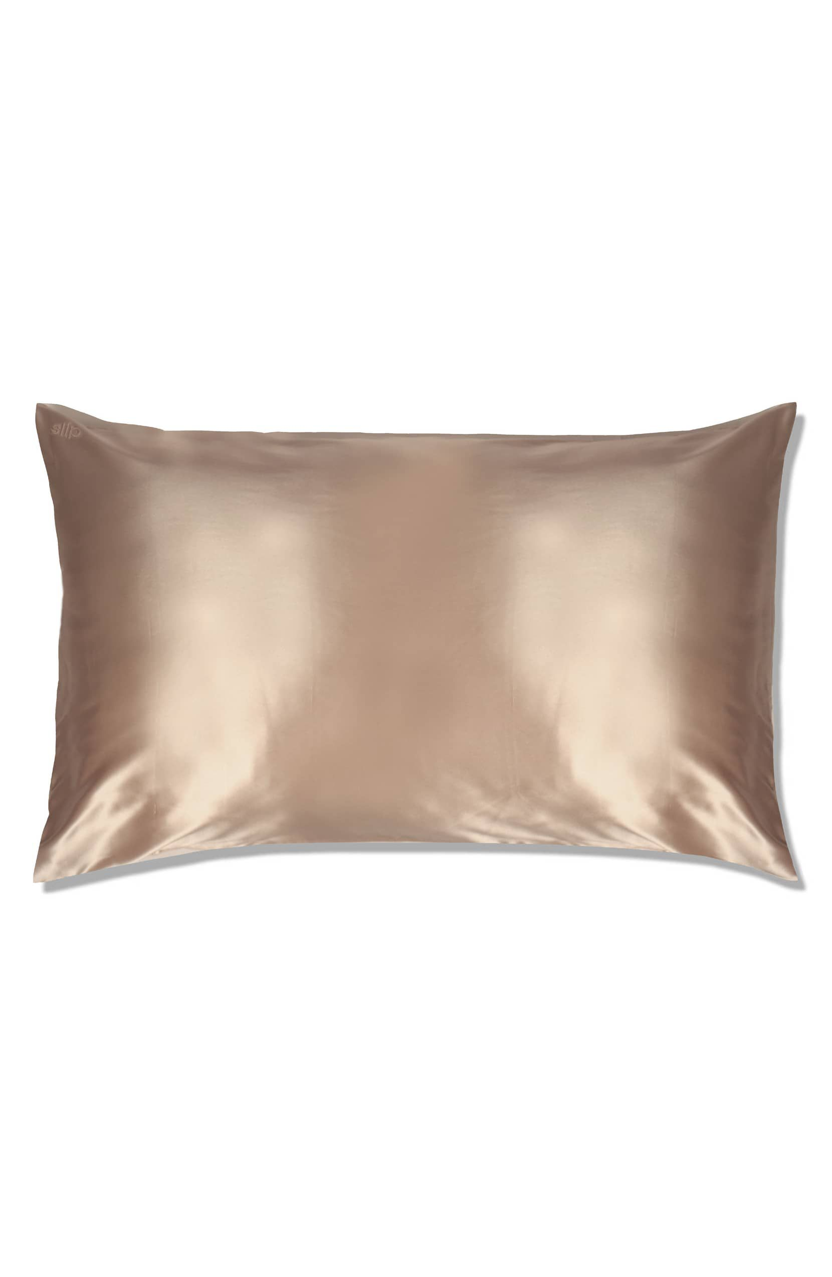 Pure Silk Pillowcase in Caramel