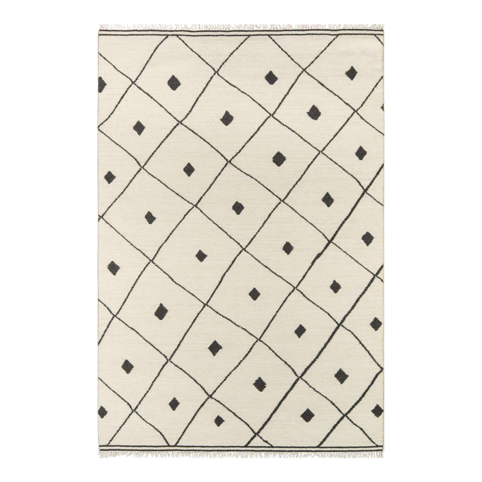 Ivory Hand Woven Area Rug