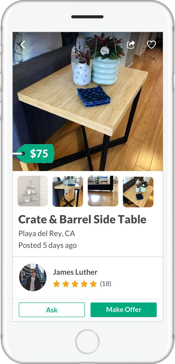 How To Find Chic And Affordable Furniture On Offerup