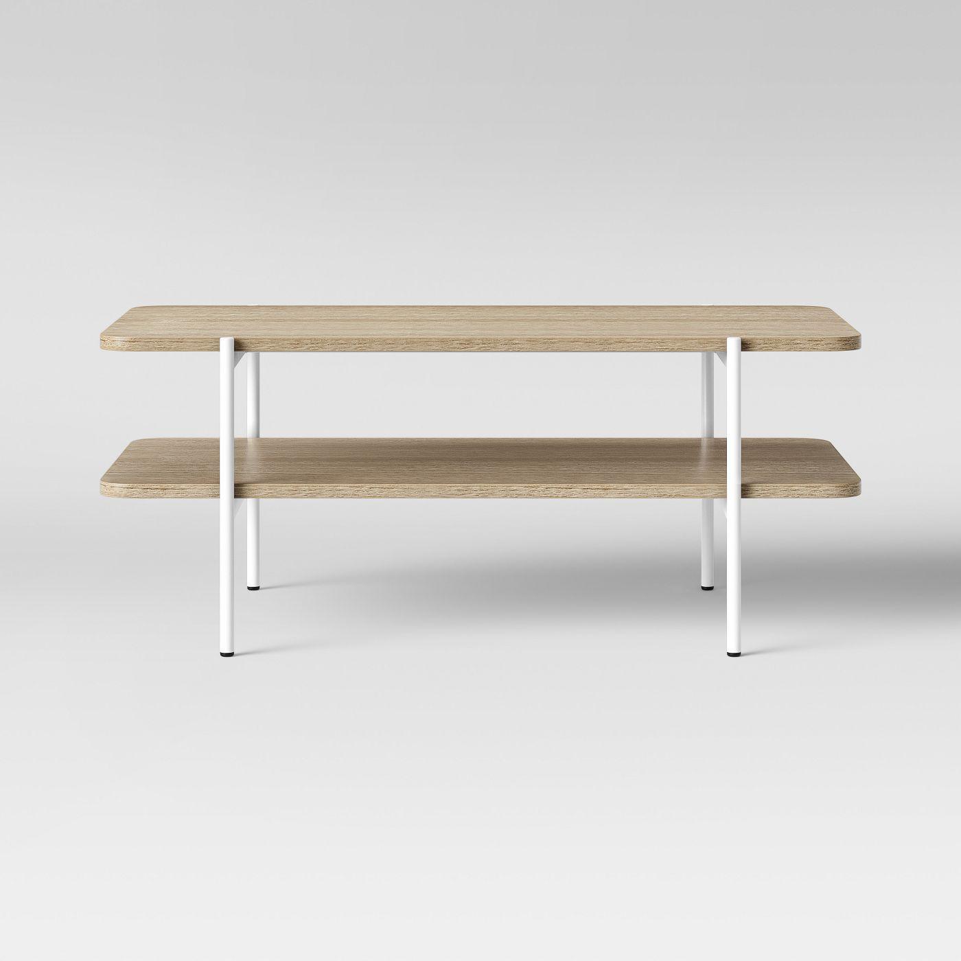 Mandelin Wood/Metal Coffee Table