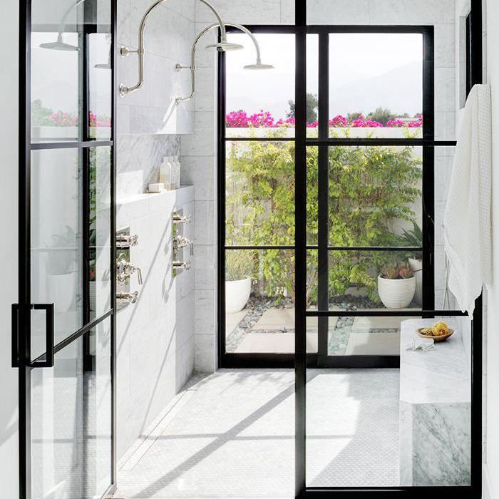 indoor outdoor shower