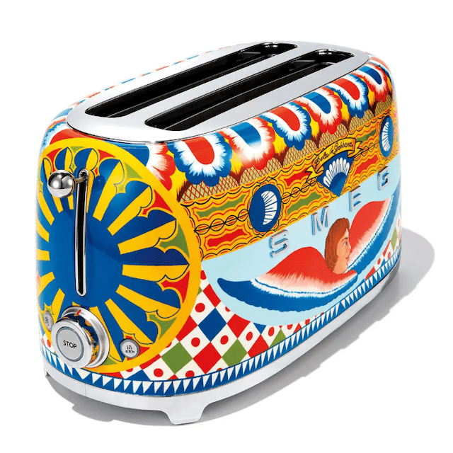 Dolce & Gabbana x Smeg Sicily is my Love Toaster
