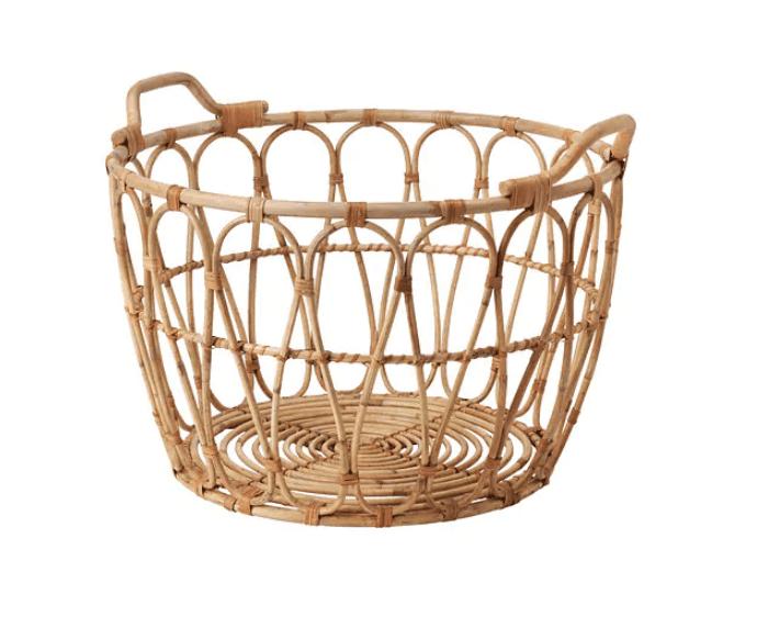 IKEA Snidad Rattan Basket