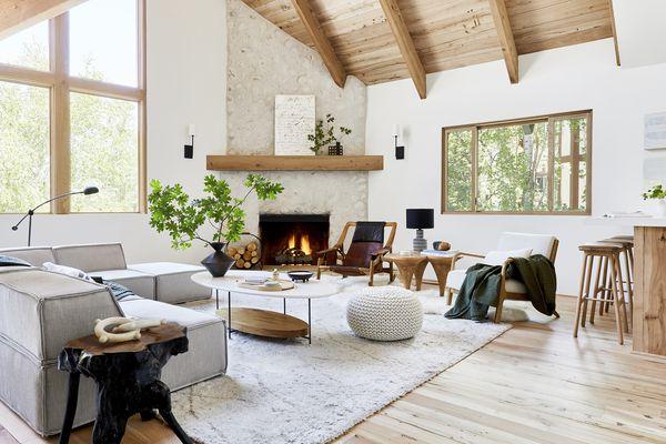 Emily Henderson Mountain House Living Room