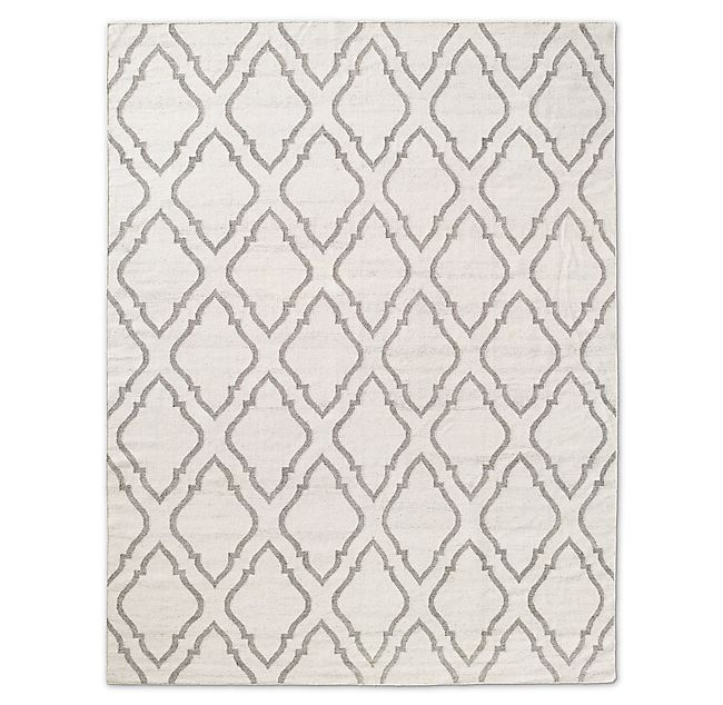 Onda Flatweave Rug in Cream