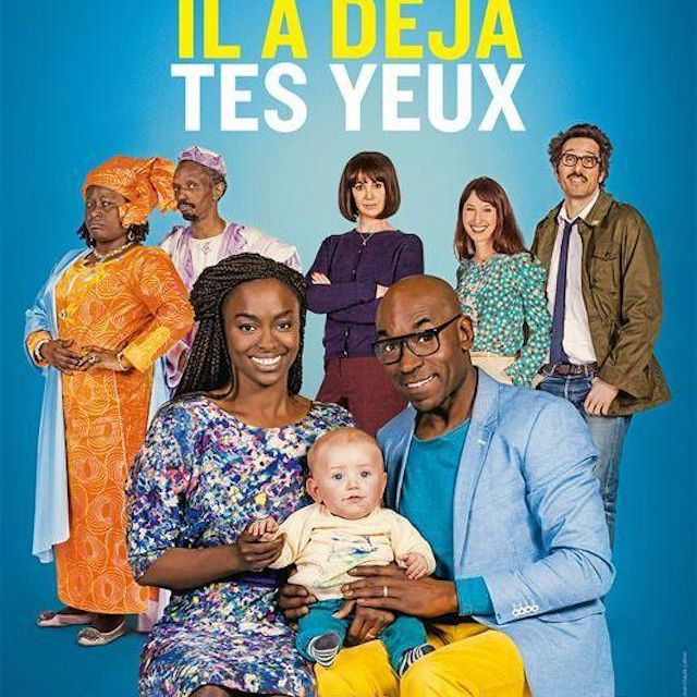 He Even Has Your Eyes (2016) poster in French.