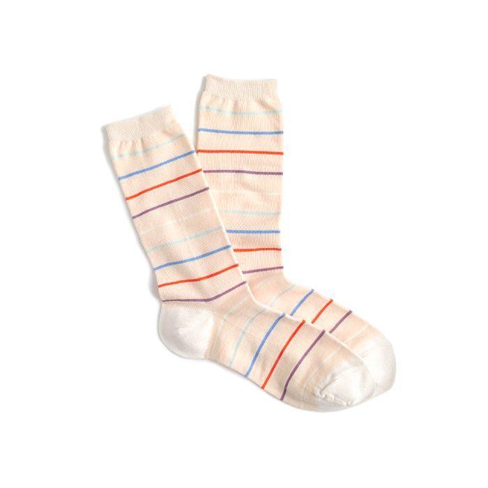 J. Crew Skinny Striped Trouser Socks