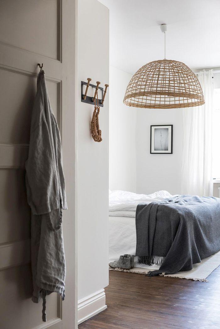 Small-Space Scandinavian Design—Basket Light
