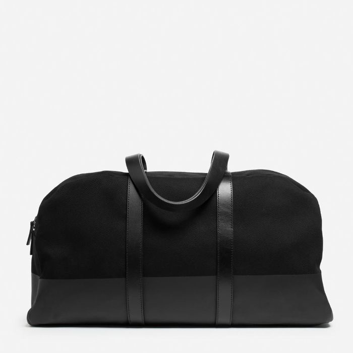 Women's Twill Weekender Bag by Everlane in Black Travel duffel bags