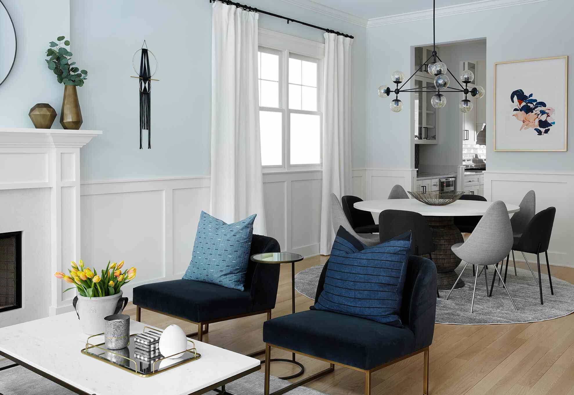 13 Inspiring Spaces That Prove Crown Molding Works With Any Style