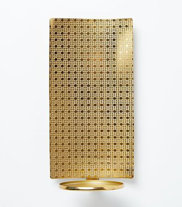 Textured Metal Wall Sconce