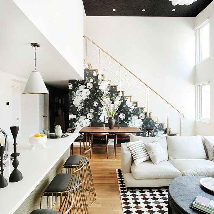 Tour A Modern Brooklyn Home With Gorgeous Accent Walls