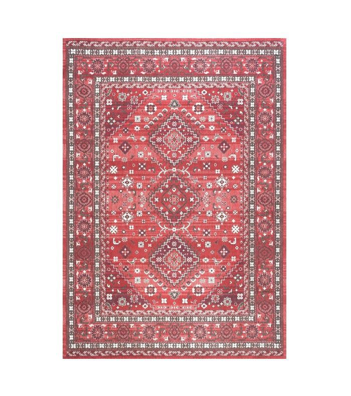 Houzz Traditional Tribal Diamond Persian Area Rug