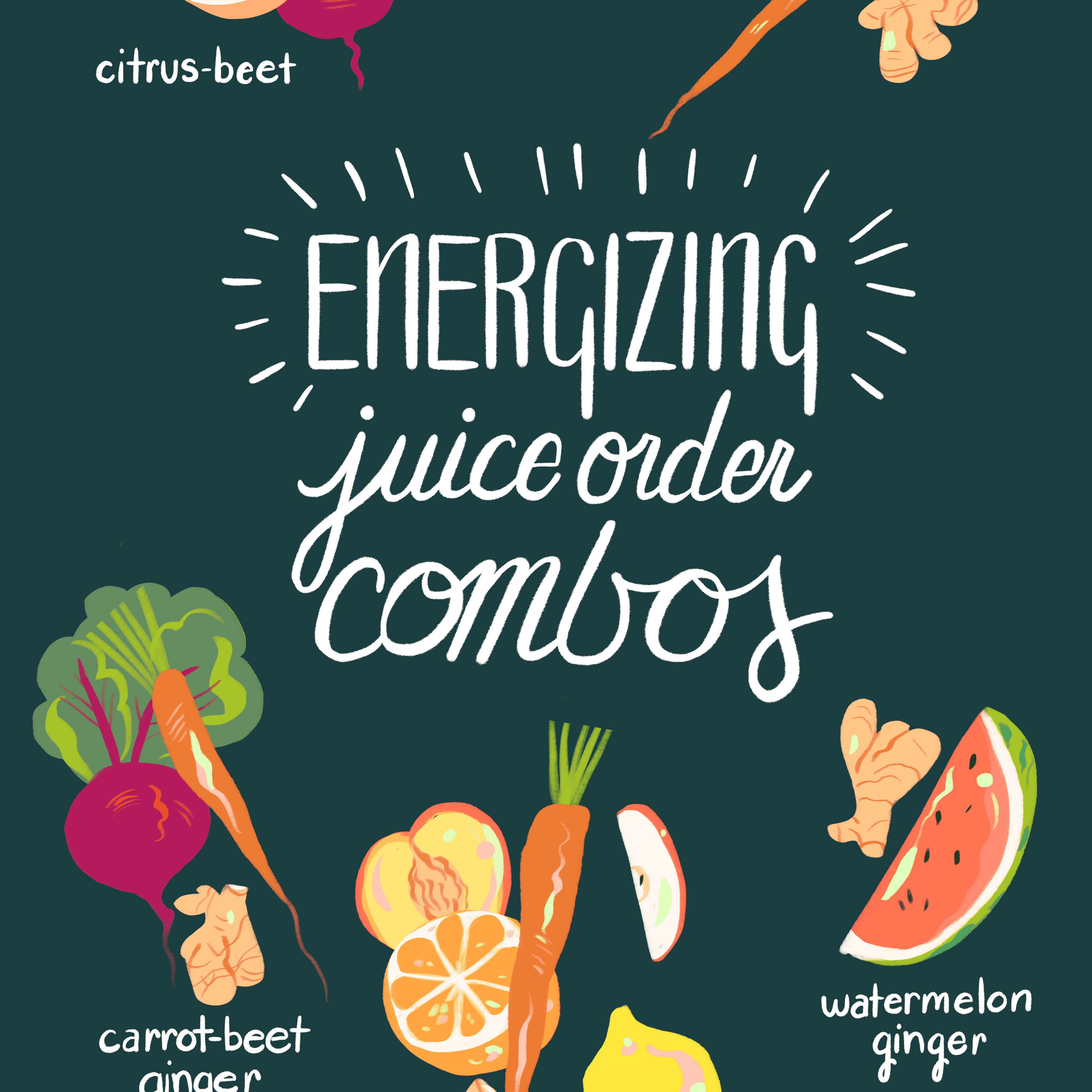 Energizing Juice Order Combos
