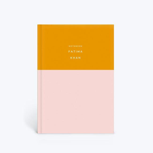 Colorblock Notebook