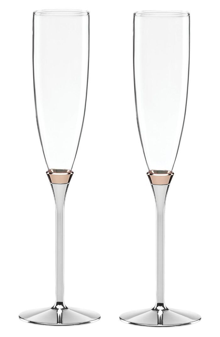 Kate Spade New York 'Rosy Glow' Champagne Toasting Flutes