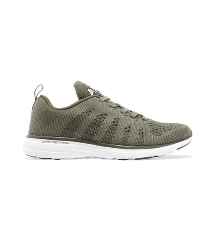 Techloom Pro Cashmere-blend Mesh Sneakers