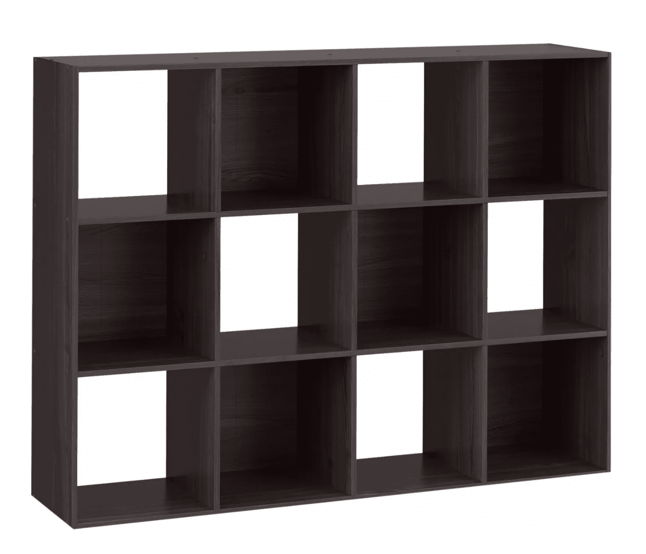 12 cube organizing shelf