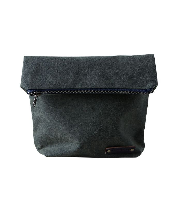 Red House Waxed Canvas Lunch Tote