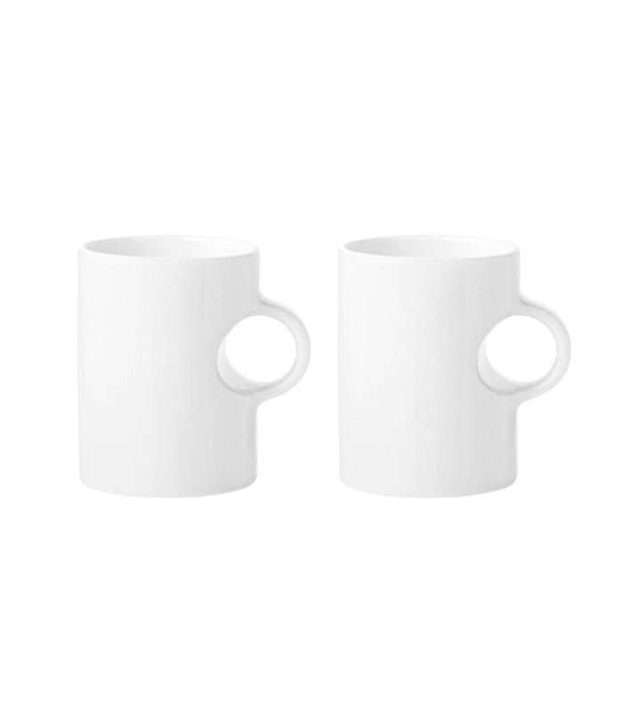 Set of two Circle mugs