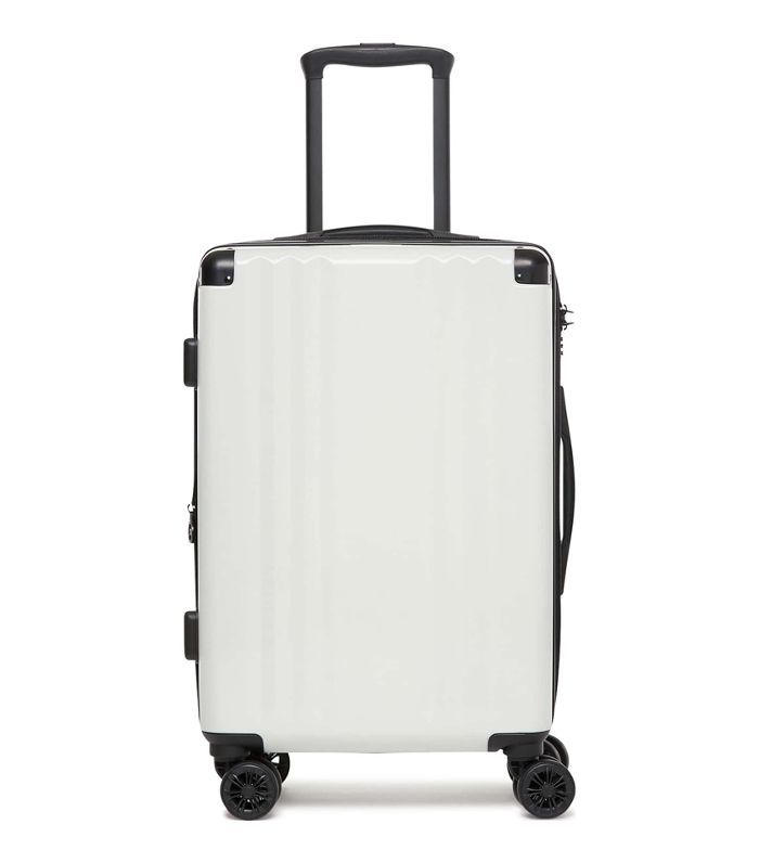 Calpak Ambeur 20-Inch Rolling Spinner Carry-On - White