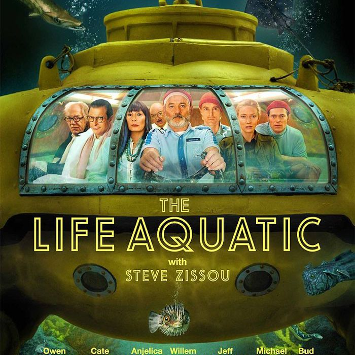 Decoración inspirada en Wes Anderson - Life Aquatic